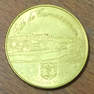 11 CITÉ DE CARCASSONNE FRANCE MÉDAILLE SOUVENIR JETON TOURISTIQUE MEDALS COINS TOKENS - Touristiques