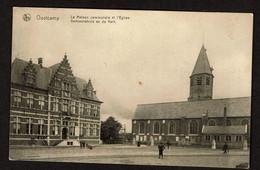 Oostkamp - Oostcamp - La Maison Communale Et L'Eglise / Gemeentehuis En De Kerk - Edi. Mahieu-D'Hooghe - Oostkamp