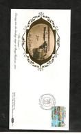 1991- ENVELOPPE  VUE D'AURIGNY - Alderney