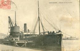 Santander - Detalle De Los Muelles - Bateau à Quai - Cantabria (Santander)