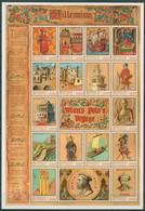 Guinea 2000 Reisen Marco Polos Millenium 2730/46 ZD-Bogen Postfrisch (SG29023) - Guinea (1958-...)