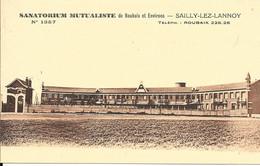CPA-1930-59-SAILLY-LEZ-LANNOY-SANATORIUM Mutualiste De Roubaix Et Environ-TBE - Otros Municipios