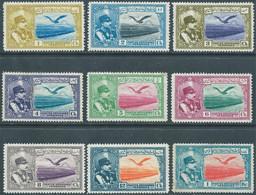 PERSIA PERSE IRAN PERSIEN,1930 Poste Aerienne,1ch-2ch-3ch-4ch-5ch-6ch-8ch-12ch-1kr-Hinged,Not Used,Value:€16,00 - Iran