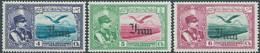 PERSIA PERSE IRAN PERSIEN,1935 Poste Aerienne,Overprinted IN Black,4ch,5ch,6ch,MNH - Iran