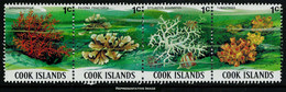 Scott 564   1c Siphonogorgia, 1c Pavona Praetorta, 1c Stylaster Enchinatus And 1c Tubastraea Coral Se-tenant Strip... - Cook