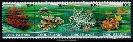 Scott 570   10c Siphonogorgia, 10c Pavona Praetorta, 10c Stylaster Enchinatus And 10c Tubastraea Coral Se-tenant S... - Cook