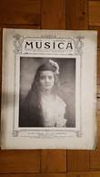 MUSICA 1909  MLLE VAN BARENTZEN 14 PAGES - 1900 - 1949