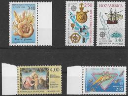 FRANCE N°2754,2755,2756,2757 Et 2758 **  Neufs Sans Charnière Luxe MNH - France