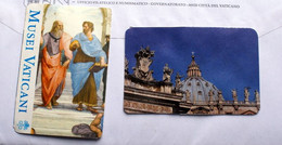 VATICAN 2020, TICKETS OF ENTRANCE VATICAN MUSEUM AND SAINT PETER DOME , USED - Tickets - Vouchers