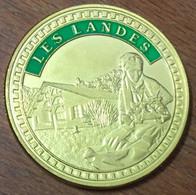 40 LES LANDES AMMF MÉDAILLE SOUVENIR 41 MM JETON TOURISTIQUE MEDALS TOKENS COINS - Touristiques