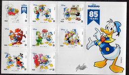 2019 Italy Italian Painters 85 Y Donald Duck Comics By G. Cavazzano S.adh. Sheetlet MNH** MiNr. 4158 - 4165 Disney, Art - 2011-...: Mint/hinged