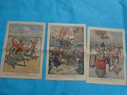 3 N° Le Petit Journal Avril  N°3-10-24 De 1910 Civilises Anthropophages-barbarie Marocaine-etnasuffragettes Anglaises - Journaux - Quotidiens