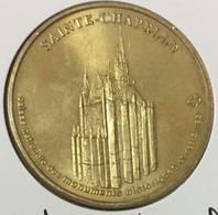 75001 PARIS SAINTE CHAPELLE MEDAILLE SOUVENIR MONNAIE DE PARIS 2004 JETON TOURISTIQUE MEDALS COINS TOKENS - Monnaie De Paris
