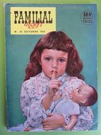 Revue - Familial Digest N° 46 - 1953 - Bourvil - Dans L'enfer De La Mer Rouge - Lacha - Livres, BD, Revues