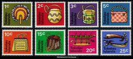 Scott 25-32   1c, 2c, 3c, 5c, 10c, 15c, 20c And 25c Native Handicrafts. Mint Never Hinged. - Tokelau
