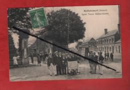 CPA Très Abîmée -  Hallencourt  -(Somme) - Sport Tamis Hallencourtois - Andere Gemeenten