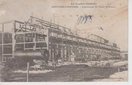 CPA Saint-Chély-d'Apcher - Construction Des Usines De Firminy - Saint Chely D'Apcher