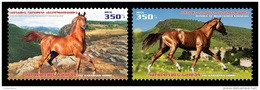 Armenia (Nagorno-Karabakh) 2016 Mih. 129/30 Fauna. Karabakh Horses MNH ** - Armenia