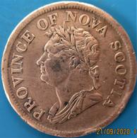 Canada, Nouvelle Ecosse, 1 Penny Token Nova Scotia 1832, TTB - Canada