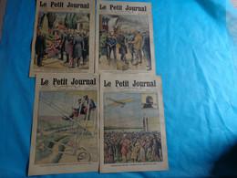 4 N° Le Petit Journal Aout 28-21-14-7 De 1910 Dr Crippon-graby-arrivee De Leblanc-moussa Ag Amastane-aviateur - Journaux - Quotidiens