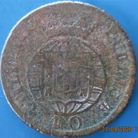 Portugal, Pataco - Jean VI, 40 Réis 1824, TB - Portogallo