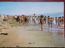 85 - SAINT-HILAIRE De RIEZ - Colonie De Vacances De Gagny - La Plage. (les Enfants) CPSM - Saint Hilaire De Riez