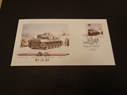 M6698- Personalised FDc Rep.Du Niger 2013 - Bataille Des Ardennes - Tanks - WW2