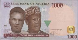 TWN - NIGERIA 36n - 1000 1.000 Naira 2016 Prefix R/47 UNC - Nigeria