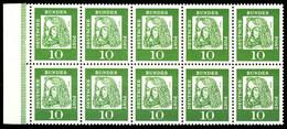 BRD HEFTCHENBLATT Nr H-Blatt 11B Postfrisch HB S1D5B62 - Se-Tenant