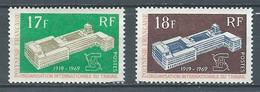 Polynésie Française YT N°70/71 Organisation Internationale Du Travail Oblitéré ° - Polinesia Francese