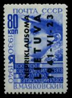 BES 2WK LITAUEN Nr 9 Ungebraucht X70BF7A - Occupazione 1938 – 45