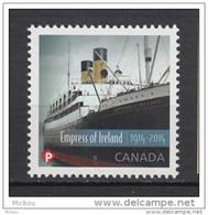 Canada, 2014, Empress Of Ireland, Bateau, Boat, Naufrage, Maritime, Shipwreck, Histoire, History - Barche