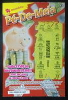 RASP74, Lottery Tickets, Portugal, « Raspadinha », « Pig », Nº 256 - Loterijbiljetten