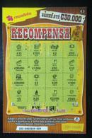 RASP74, Lottery Tickets, Portugal, « Raspadinha », « Reward », Nº 222 - Loterijbiljetten