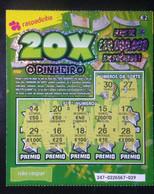 RASP74, Lottery Tickets, Portugal, « Raspadinha »,  Nº 247 - Loterijbiljetten