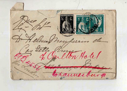 Cx15 84) Portugal Ceres Republica Portuguesa  1913 > Mulher Governador Moçambique Lourenço Marques Via London - 1910-... République