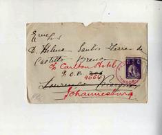 Cx15 85) Portugal Ceres Republica Portuguesa  1916 > Mulher Governador Moçambique Lourenço Marques Passed Censor 99 - 1910-... République