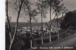 CEFALÚ-PALERMO-PANORAMA DALLO STRADALE DI GIBILMANNA- CARTOLINA VERA FOTOGRAFIA- VIAGGIATA IL 12-7-1950 - Palermo