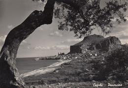 CEFALÚ-PALERMO-PANORAMA- CARTOLINA VERA FOTOGRAFIA- VIAGGIATA IL 21-3-1951 - Palermo