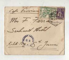 Cx15 92) Portugal Republica 1915 Taxa De Guerra Ceres Lourenço Marques Passed Censor Breyner & Wirth > Cape Province - 1910-... République