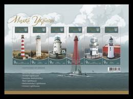 Ukraine 2020 Mih. 1892/97 (Bl.169) Lighthouses MNH ** - Oekraïne