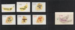(stamps 22-09-2020) Tonga Mint Stamps - 6 Banana / Banane / 1 Bird  - Oiseau - Tonga (1970-...)