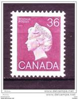Canada, 1987, #904A, Élizabeth II - 1952-.... Regno Di Elizabeth II