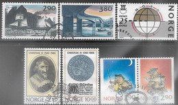 Norway   1988  7 Diff Used  2016 Scott Value $5.05 - Usados