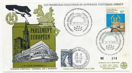 BELGIQUE - 10F Elections Européennes Au Suffrage Universel Direct - 18/3/1978 - Bruxelles / Brussel - Brieven En Documenten