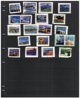(stamps 22-09-2020) New Zealand - Selection Of 20 Used (on Paper - Christmas Island