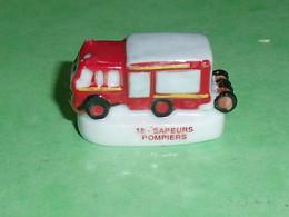 Fèves / Sports : Camion De Pompiers  T51 - Sport