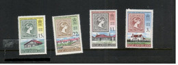 (stamps 22-09-2020) Falkland Islands  - Set Of 4 Mint Stamps (UPU) - Islas Malvinas