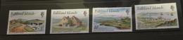 (stamps 22-09-2020) Falkland Islands  - Set Of 4 Mint Stamps - Islas Malvinas