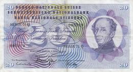 Billet De 20.- / 1970 - Switzerland